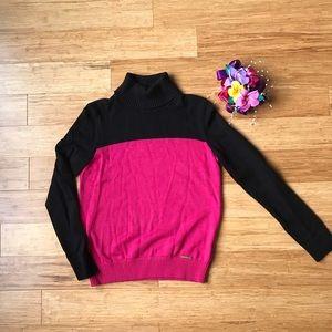 Michael Kors Sweater turtleneck color Block